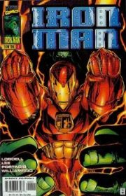 Iron Man #1 Hulk Variant Volume 2 (1996 Series) Marvel Comics